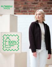 Honestly Made Recycled Womens Full Zip Fleece