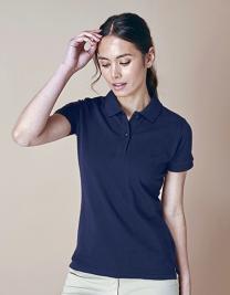 Ladies` Microfine-Piqué Polo Shirt